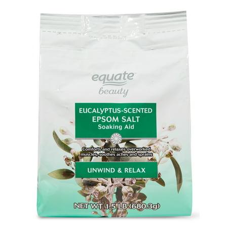 Equate Beauty - Eucalyptus-Scented Epsom Salt Soaking Aid