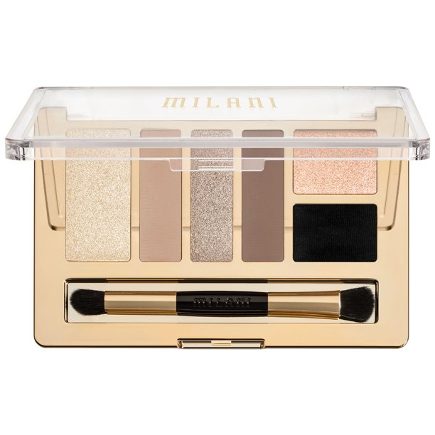 Milani Milani Everyday Eyes Eyeshadow Collection, 01 Must Have Naturals, 0.21 oz