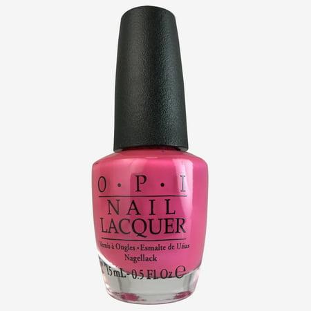 OPI - OPI Nail Lacquer, Hotter Than You Pink 0.5 oz
