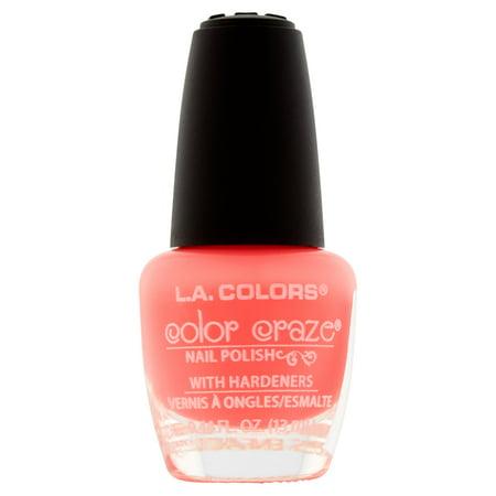 L.A. Colors - L.A. Colors Color Craze CNP537 Frill Nail Polish, 0.44 fl oz