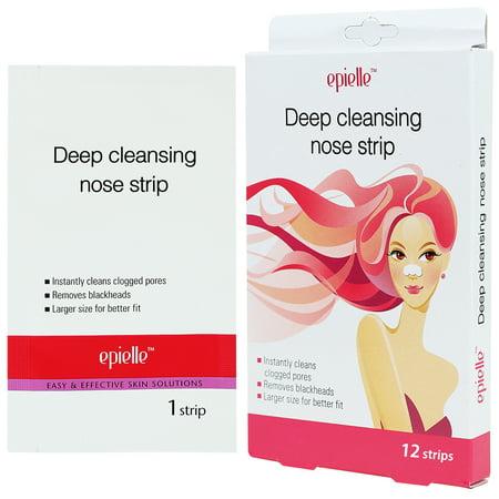 Epielle Epielle Deep Cleansing Nose Strip Blackhead Remover, 12ct