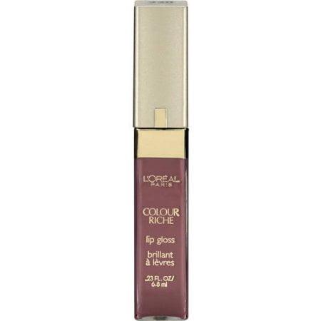 L'Oreal Paris - L'Oreal Paris Colour Riche Lip Gloss, Rich Rose
