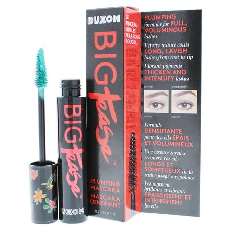 Buxom Big Tease Plumping Mascara - Tropical Teal by Buxom for Women - 0.38 oz Mascara