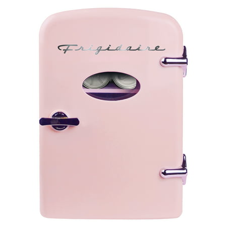 Frigidaire - Portable Retro Mini Fridge