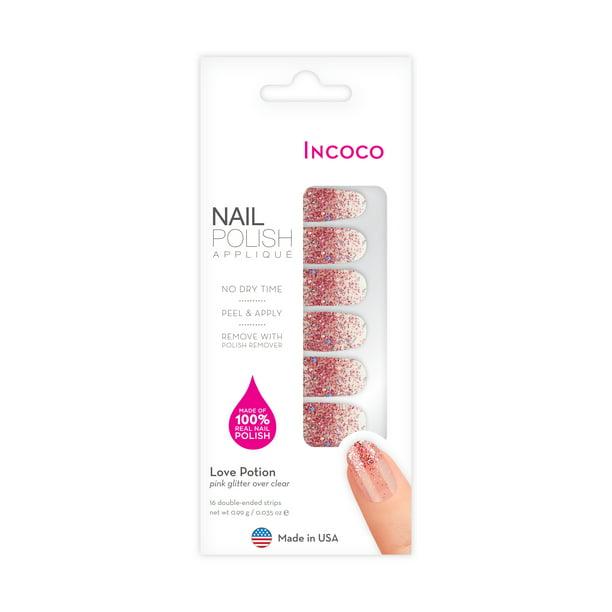 Incoco - Incoco Nail Polish Strips, Love Potion
