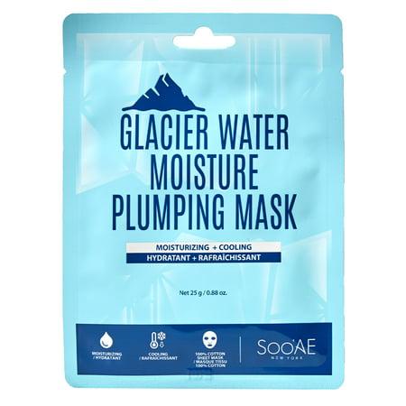 SooAE Glacier Water Moisture Plumping Mask