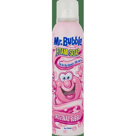 Mr. Bubble Mr. Bubble Original Foam Soap Original Bubble Gum Scent 8 Oz