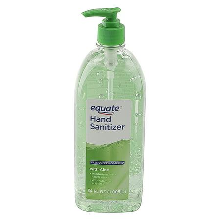 Walmart.com - Equate Hand Sanitizer with Aloe, 34 fl oz - Walmart.com