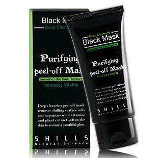 Walmart.com - SHILLS Purifying Black Peel-off Mask,Facial Cleansing, Blackhead Remover Deep Cleanser, Acne Face Mask (Single) - Walmart.com