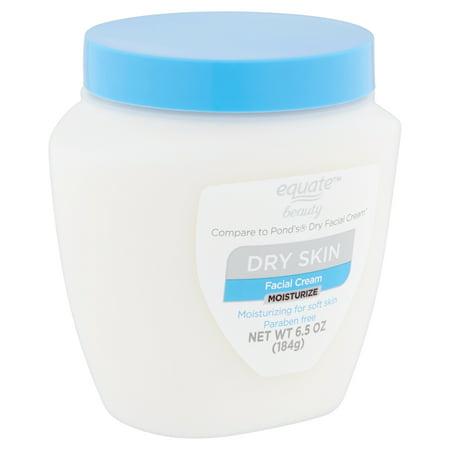 Equate Beauty - Equate Beauty Moisturize Dry Skin Facial Cream, 6.5 oz