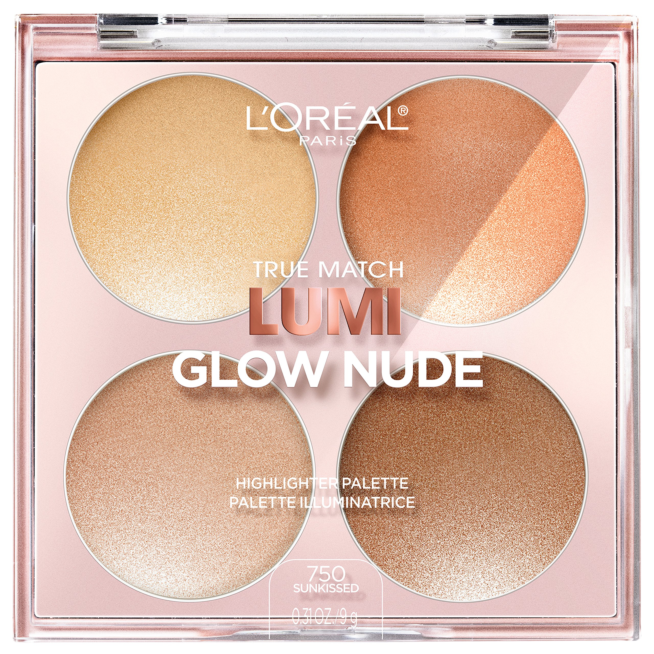 L'Oreal Paris - True Match Lumi Glow Nude Highlighter Palette