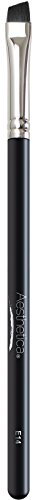 Aesthetica - Aesthetica Pro Series Angled Eyeliner Brush - Tapered for Use with Liquid, Gel, Cream and Powder Eye Liner - Vegan and Cruelty Free
