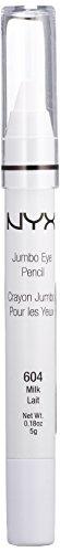 NYX - NYX PROFESSIONAL MAKEUP Jumbo Eye Pencil, Milk, 0.18 Ounce