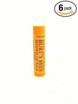 Burt's Bees - Burt's Bee's - Beeswax Lip Balm With Vitamin E & Peppermint PACK OF 6