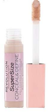 Makeup Revolution - Makeup Revolution Conceal & Define Supersize Concealer fair skin tones with a neutral undertone 0.45oz, pack of 1