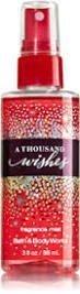 Bath & Body Works - Bath and Body Works a Thousand Wishes Mini Fragrance Mist 3 Oz by Bath & Body Works