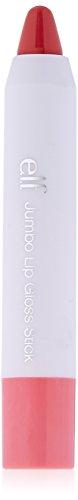 e.l.f. Cosmetics e.l.f. Jumbo Lip Gloss Stick, Pink Umbrellas, 0.099 Ounce