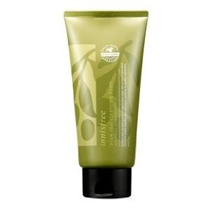 Innisfree - Innisfree Olive Real Cleansing Foam with Organic Extra Virgin Olive Oil, 5.07 Ounce