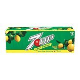 7 UP At The Neighborhood Corner Store 7-Up Lemon Lime Soda, 12 Ounce (12 Cans)