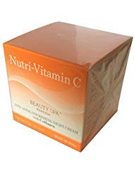 Beauty Spa - Nutri-C2 Nourishing Night Cream with Vitamin C and Collagen 1.7 OZ Anti- Aging