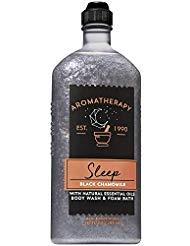 Bath & Body Works - Bath and Body Works Aromatherapy SLEEP - BLACK CHAMOMILE Body Wash and Foam Bath 10 Fluid Ounce