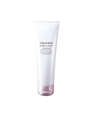 Shiseido Shiseido White Lucent Brightening Cleansing Foam for Unisex, 4.7 Oz