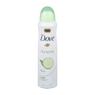 Dove - Dove Dry Spray Antiperspirant, Cool Essentials 3.8 oz (Pack of 5)