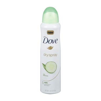Dove - Dove Dry Spray Antiperspirant, Cool Essentials 3.8 oz (Pack of 5)