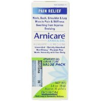 Boiron - Boiron Arnicare Gel With Multi Dose (Blue) Tube for Muscle Aches, 2.6 Ounce gel + 80 Pellets