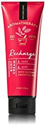 Bath & Body Works - Bath and Body Works Aromatherapy Cream Recharge Sage and Mint 8 Ounce Full Size