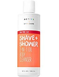Bath & Body Works - Bath and Body Works Active \ Skincare ON-The-GO Shave + Shower 2-in-1 Oil Body Cleanser 8 Fluid Ounce