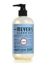 null - Mrs. Meyers Clean Day Liquid Hand Soap Hard 12.5 Oz Bluebell Scent Pump Dispenser