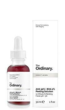 The Ordinary Peeling Solution AHA 30% + BHA 2%