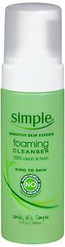 Simple - Foaming Cleanser