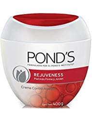 Pond's - Pond's Rejuveness Anti-Wrinkle Cream 14oz, Crema Ponds Rejuvecedora Contra-Las Arrugas 400gr