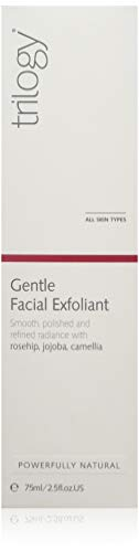 Trilogy Trilogy Gentle Facial Exfoliant for Unisex, 2.5 Ounce