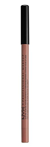 NYX - NYX PROFESSIONAL MAKEUP Slide On Lip Pencil, Nude Suede Shoes, 0.04 Ounce