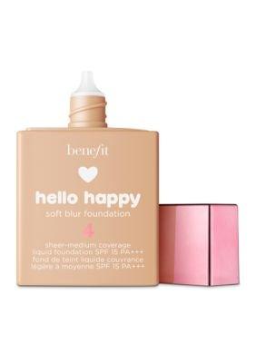 Benefit Cosmetics - Benefit Cosmetics Hello Happy Soft Blur Foundation Shade 4