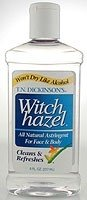 Dickinson's - Dickinson's Witch Hazel Astringent, 8 Ounce