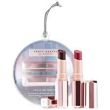 Fenty Beauty - Two Lil Mattemoiselles Plush Matte Lipstick, Spanked and Griselda