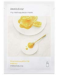 "Innisfree - Innisfree My Real Squeeze Mask Sheet 18 types 20m x 5 pcs "" New products launched in September 2017 "" (5. Manuka Honey)"