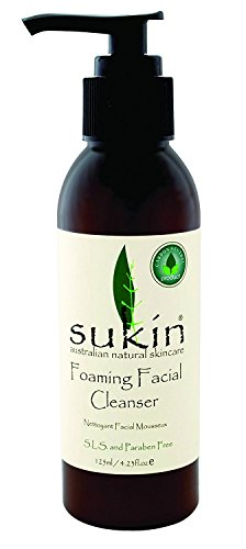 Sukin Sukin Foaming Facial Cleanser Pump, 4.23 Fluid Ounce