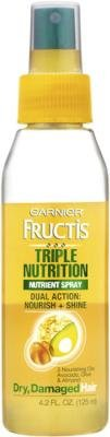 Garnier - Garnier Fructis Triple Nutrition Nutrient Spray 4.2oz (3 Pack)