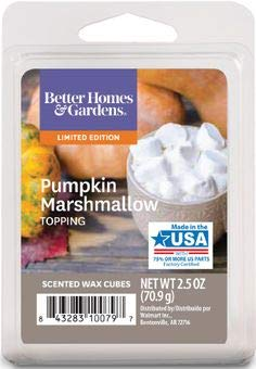 Better Homes & Gardens - Better Homes & Gardens Pumpkin Marshmallow Topping 2018 Limited Edition Wax Cubes