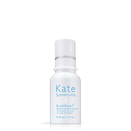 Kate Somerville - Kate Somerville EradiKate Salicylic Acid Acne Treatment (1 Fl. Oz.) Overnight Treatment Lotion to Clear & Prevent Acne Blemishes, Smooth Skin Texture, and Minimize the Look of Pores