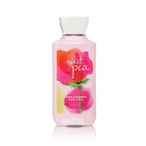 Bath & Body Works - Bath & Body Works Signature Collection Sweet Pea Lotion, 8 fl oz (Pack of 2)