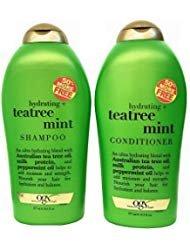 Organix - Organix (OGX) Tea Tree Mint Hydrating Shampoo + Conditioner, 19.5 oz Large DUO