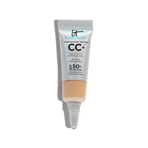 It Cosmetics it Cosmetics Your Skin But Better CC+ in Light Hydrating and Color Correcting Cream with SPF 50 (Travel Size 4ml)