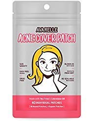 AVARELLE - Avarelle Acne Cover Spot Patch Hydrocolloid, Tea Tree & Calendula Oil (VARIETY PACK / 40 PATCHES)