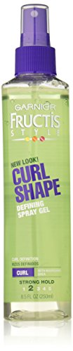 Garnier - Garnier Fructis Style Curl Shape Defining Spray Gel, Curly Hair, 8.5 fl. oz.